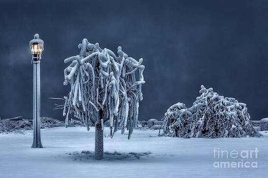 Niagara's Winter Blues by doug hagadorn by Doug Hagadorn