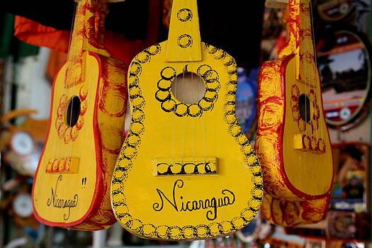 Nicaraguan Guitar by Lal Rodawla