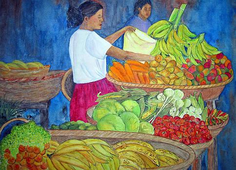 Patricia Beebe - Nicaraguan Market Day