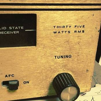 Nice Old Tuner/amp by Jeff Madlock