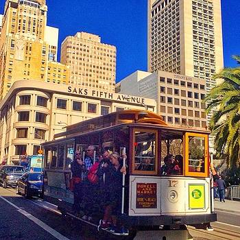 Nice To Ride A Cable Car On The Sunny by Karen Winokan