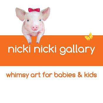 Nicki Nicki Gallery New Logo  by Junko Van Norman