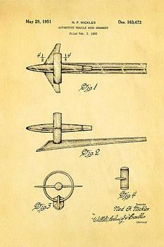 Ian Monk - Nickles 51 Buick Hood Ornament Patent Art 1951