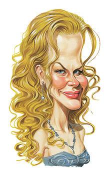 Nicole Kidman by Art