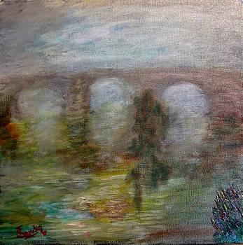 Niebla en el rio by Juan Sandin