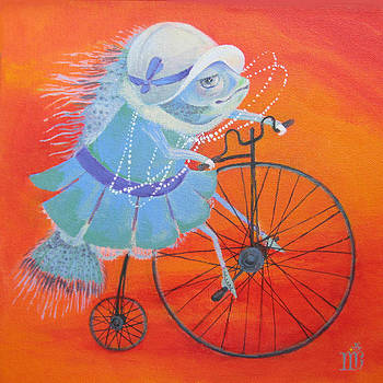 Niece Sonia by Marina Gnetetsky