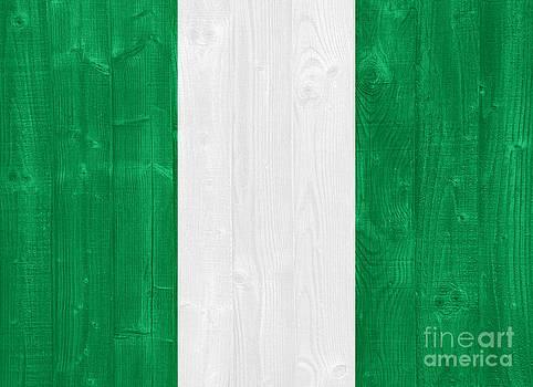 Nigeria flag by Luis Alvarenga