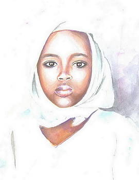 Nigerian Girl by Jovica Kostic