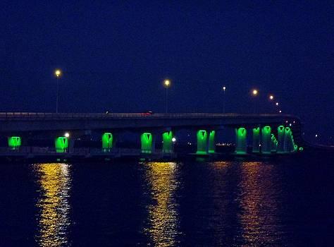 Night Bridge by John Wartman