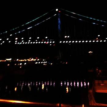 #night #bridge #philly #igers_philly by Philip Grant
