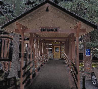 Night Entrance by Tammy Sutherland