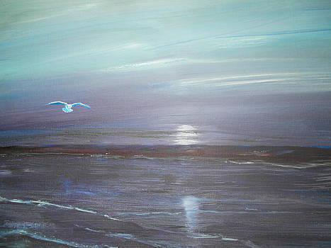 Night Flight 2 by Linda Bright Toth