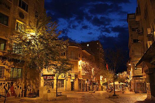 night Jerusalem by Simon Levin