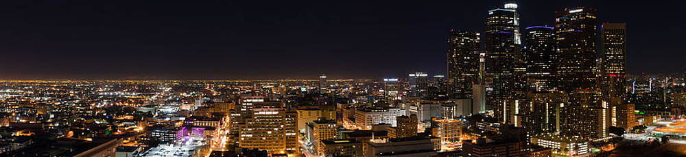 Night Life in Downtown LA by Vanessa Espinoza