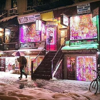 Night Lights, Hot Food, And Icing by Vivienne Gucwa
