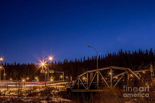 Alanna DPhoto - Night Lights in Fort McMurray