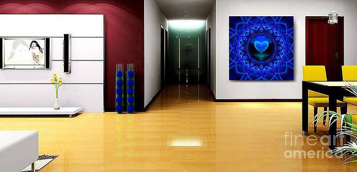Night Love Gift - Art Ideas for Interior Design by Hanza Turgul
