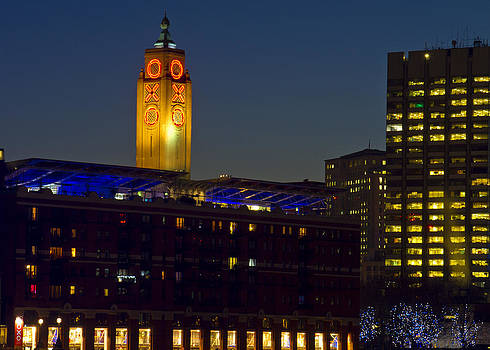 David French - Night Oxo Tower skyline