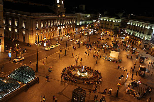 Night Time at La Puerta Del Sol by Denise Rafkind