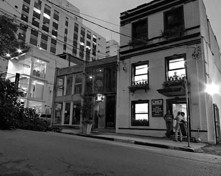 Julie Niemela - Night Time Street Scene - Sao Paulo