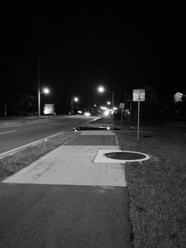 Night Time Streets by Susan Sidorski