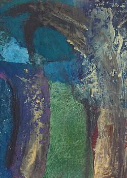 Night trees by Catherine Redmayne