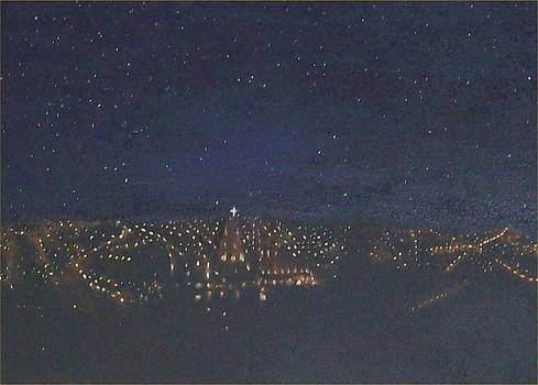 Night View of San Miguel by Irene Corey