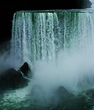 Nightfall at Niagara Falls by Deborah Knolle