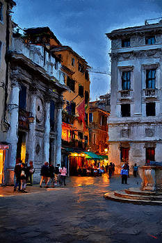 Nightlife in Venice by SM Shahrokni