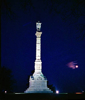 Nightly Stature-2- In Yorktown- Virgina by Thomas D McManus