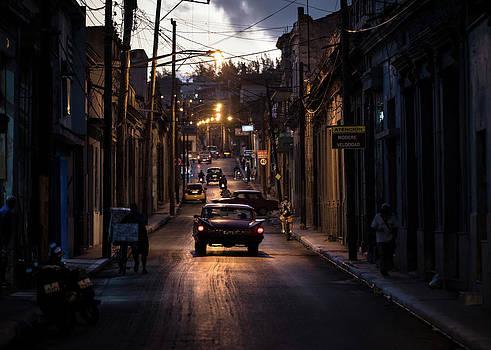 Nights Streets Of Matanzas by Marco Tagliarino