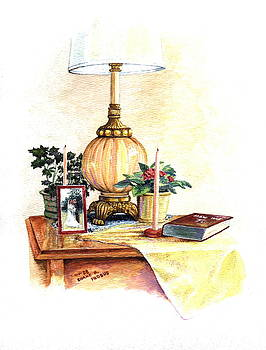 Nightstand by Duane R Probus