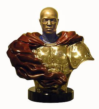 Nijel in Bronze by Nijel Binns