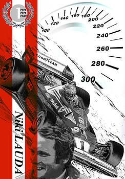 Niki Lauda 1 by Fero Kopacik