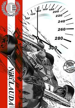 Niki Lauda by Fero Kopacik