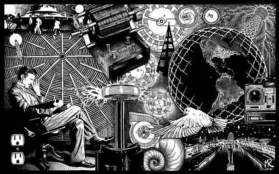 Tesla by Matthew Ridgway