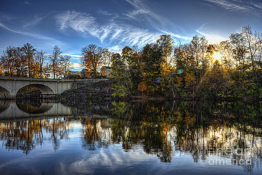 Niles Reflections by Scott Wood