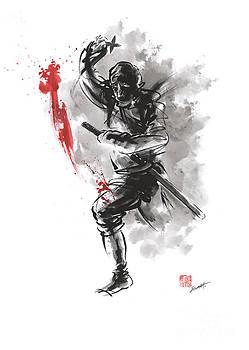 Ninja - dark warrior by Mariusz Szmerdt