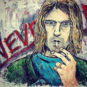 #nirvana #nevermind #kurtcobain by Matthew Martnick