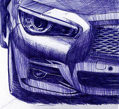 Nissan Q50 portrait by Richard Erickson