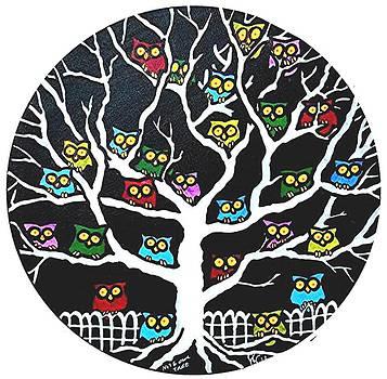 Jim Harris - Nite Owl Tree