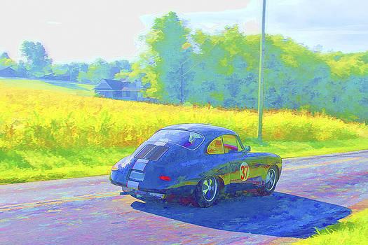 Jack R Perry - No 37 Porsch 356