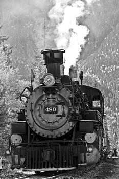 No 480 Steam Engine by Marta Alfred
