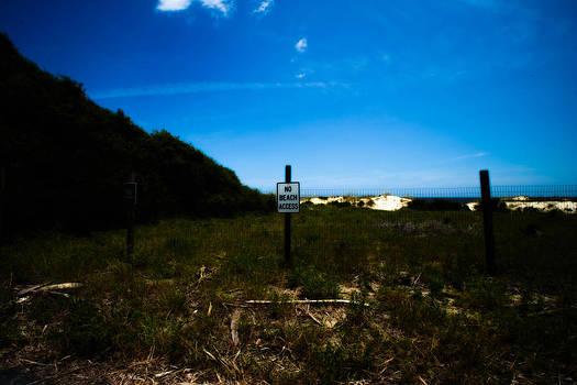 No Beach Access by J Riley Johnson
