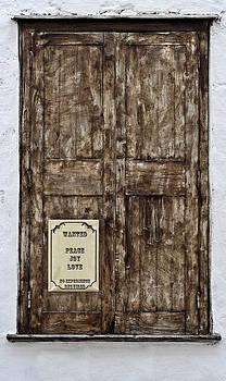 Pedro Cardona Llambias - Old window - No experience required