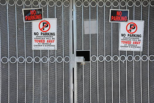 No Parking #2 by Lisa Lieberman