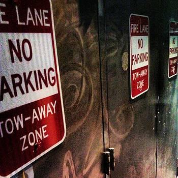 No Parking by Nick Hansen