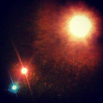 No Stars, Just Street Lamps by Chase Alexander