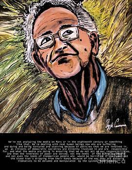 Noam Chomsky by Visual Renegade Art
