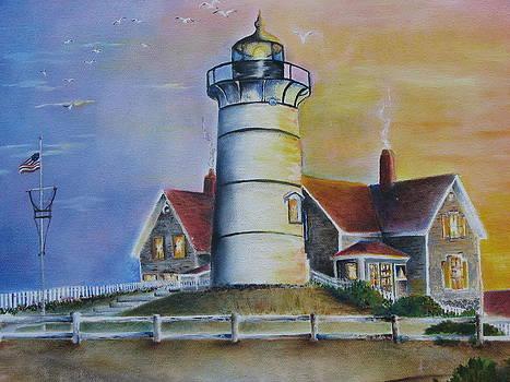 Nobska Lighthouse by Randi Evans